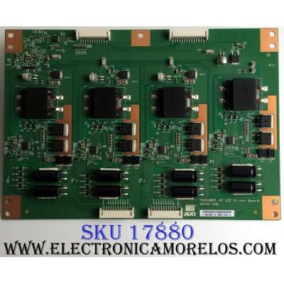 LED DRIVER / LG 55.64T05.D04 / T645HW05 V0 LED / 64T05-D09 / 5564T05D04 / PANEL T645HW05 V.0 / MODELOS 65LW6500-UA.AUSDLUR / 65LW6500