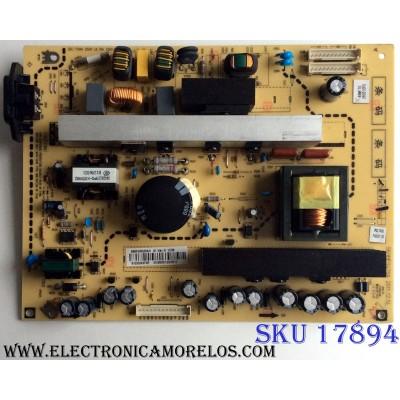 FUENTE DE PODER / INSIGNIA 6MF00520A0 / 569MF0420A / VER:A / E325628 / PANEL LTA460HM03 / MODELO NS-46L240A13