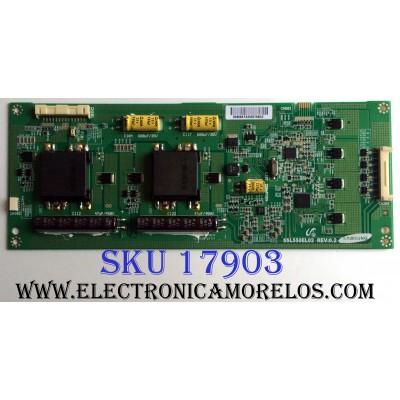 BACKLIGHT INVERSOR / MITSUBISHI LJ97-02868A / SSL550EL02 REV:0.2 / 02868A / PANEL LTA550HJ04 / MODELOS LT-55164 / NS-55E560A11 / 55UX600U