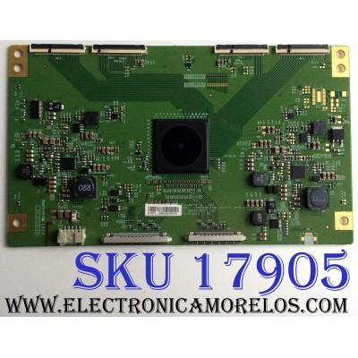 T-CON / SONY 6871L-3606C / 6870C-0501A / LC550EQK-FGK4_CONTROL_VER0.2 / MODELO XBR-55X850B