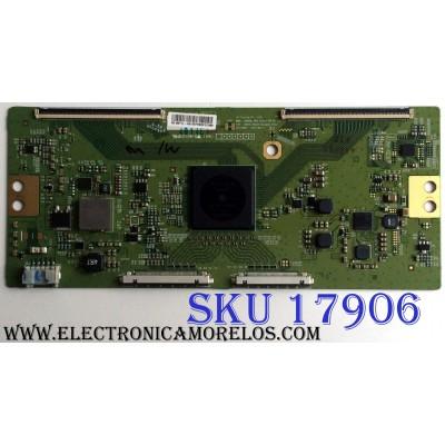 T-CON / SONY 6871L-4014E / 6870C-0562A / 4014E / PANEL SYV6542 / MODELO XBR-65X810C