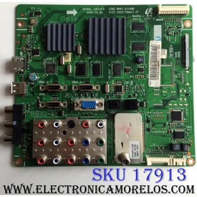 MAIN / SAMSUNG BN94-03141D / BN41-01149B / BN97-03800A / PANEL V400H1-LH3 REV.C1 / MODELOS LN40B610A5FXZA / LN40B610A5FXZA CN04