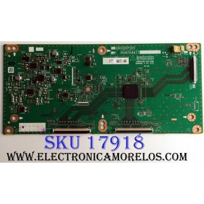 T-CON / SHARP DUNTKG477FM14 / DUNTKG477 / KG477FM14 930A / QPWBXG477WJN1 / QKITPG477WJN1 / E239218 / PANEL JE695D3HC50L / MODELOS PN-LE701 / LC-70LE660U