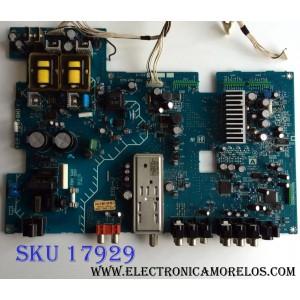 MAIN / FUENTE (COMBO) / SONY A-1123-858-A / 1-867-606-13 / 172628413 / 0173-4381-0204 / 3200-0082-0190 / MODELO KLV-S20G10