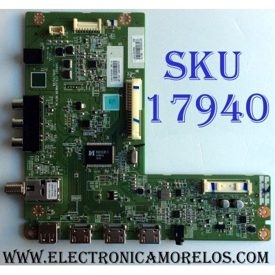 MAIN / BEST BUY / TOSHIBA 631V0200020 / VTV-L49628 REV:1A / SBW49T / 691V0200020 / REV:1A / PANEL C500LD-GF61 REV.01 / MODELO 50L420U