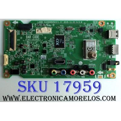 MAIN / LG EBU63575150 / EAX66950503 (1.0) / EAX66950503 / 63575150 / PANEL NC400DUE / MODELOS 40LH5300-UA.AUSJLJM / 40LH5300