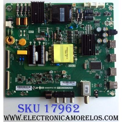 MAIN / FUENTE (COMBO) / INSIGNIA B17083090 / TP.MS3393T.PC792 / S500HF53 VD / 6050S1200L / E254215 / PANEL 96.50S12.D01 / MODELO NS-50D510NA17