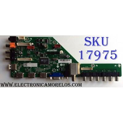 MAIN / HITACHI A15105691 / T.MS3393.72 / 50023393B00730 / E203640 / PANEL`S T650QVR01.5 / T650QVN02.0 / MODELO LE65K6R9