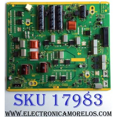 X-SUS / PANASONIC TXNSS1RBUU / TNPA5670 / TNPA5670AB / 5670AB / PANEL MC127FJ1531 / MODELO TC-P50GT50