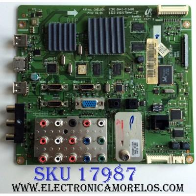 MAIN / SAMSUNG BN94-02588Y / BN41-01149B / BN97-03814A / PANEL LTF400HF11 A01 / MODELO LN40B640R3FXZA