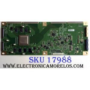 T-CON / LG OLED 6871L-5327C / 6870C-0711C / 5327C / LC650AQD-EKA1 / PANEL LC550AQD (EK)(A4) / MODELOS OLED55B6P-U.AUSZLH / OLED55B6P