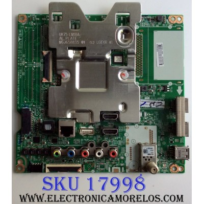 MAIN / LG EBT65246402 / EAX67872805(1.1) / 86EBT000-00A8 / EAX67872804(1.0) / EAX67872805 / EAX67872804 / PANEL HC700EQN-VHSR3-211X / MODELOS 70UK6570PUB / 70UK6570PUB.BUSMLJR