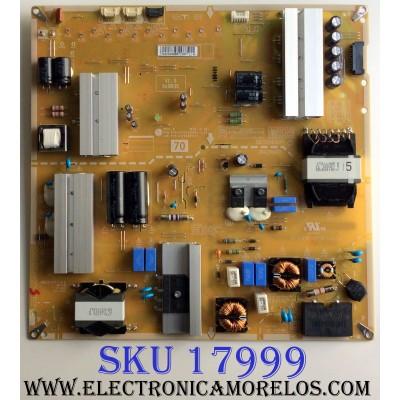 FUENTE DE PODER / LG EAY64489671 / EAX67242601 / LGP70-17UH12 / EAX67242601(1.5) / 64489671 / PANEL HC700EQN-VHSR3-211X / MODELOS 70UK6570PUB / 70UK6570PUB.BUSMLJR /