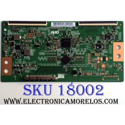T-CON / LG 5565T37C12 / T650HVN12.2 / 65T37-C09 / 55.65T37.C12 / PANEL TPT650HA-HVN12.U REV:S500A / MODELOS 65LF5700-UA / 65LF5700-UA.CUSDLH