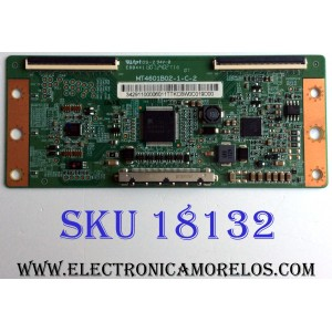 T-CON / SEIKI / RCA / 34.29110.000 / MT4601B02-1-C-2 / 3429110000 / MT4761B01-1-C-2 / PANEL D460D3-GW46-C0X / MODELOS SE46FY10 / LED48G45RQ / PLED5529A-D A1406