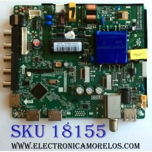 MAIN / FUENTE (COMBO) / ONN T201805203A / TP.MS3553.PB801 / 8142122352001 / HV430FHB-N10 / ONC18TV001 / 0NC18TV001 / C18065203 / PANEL CN430CN6210 / MODELO ONC18TV001