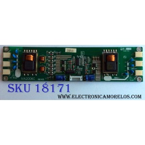 BACKLIGHT INVERSOR / DYNEX IVA2006C / IVA2006C REV05 / IVA2006C-012 / REV05 / E301791 / PANEL T200XW02 V.0 / MODELOS DX-LTDVD20 / NS-LTDVD20