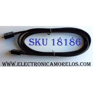 CABLE ONE CONNECT PARA CAJA DE TV / SAMSUNG BN39-01892A / 01892A / AWM E101344 STYLE 20276 VW-1 80ºC 30V SPACE SHUTTLE-C / MODELO UN65HU9000FXZA