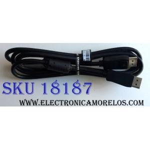 CABLE ONE CONNECT PARA CAJA DE TV / SAMSUNG BN39-01879C / AWM STYLE 20276 80ºC 30V VW-1 GLORYMARK / MODELOS LS34E790CNS/ZA / LU32D97KQSN/EN / LU32D97KQSN/XS / LU32D97KQSR/ZA / U32D970Q