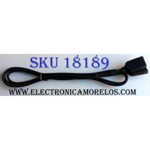 "CABLE ONE CONNECT PARA CAJA DE TV / SAMSUNG CABLE 78"" 198 CM DE LARGO / 1615"