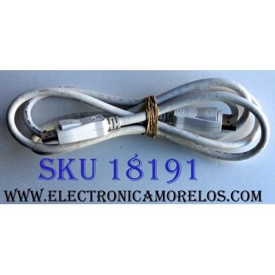 """CABLE ONE CONNECT PARA CAJA DE TV / SAMSUNG HOTRON E246588 AWM STYLE 20276 VW-1 80ºC 30V / E246588 AWM I/II A/B 80ºC 30V FT1 DisplayPort / CABLE 60"""" 152 1/2 CM DE LARGO"""
