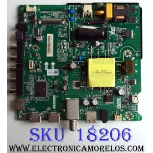 MAIN / FUENTE (COMBO) / HISENSE 235723 / TP.SR.PB701 / HU40N2176MF / E180708 / F18070820 / ZSY187HH722B / PANEL JHD400N2F31-TXL2B1QL\S0\GM\ROH / 239168 / MODELO 40EU3000