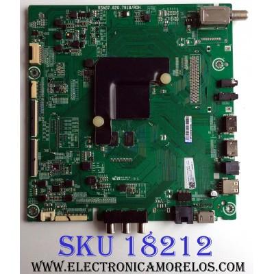 MAIN / HISENSE 226045C / RSAG7.820.7918/ROH / 226048C / 226045 / 226048 / HU55A6106UW / 3TE55G180907 / G1809C0 / MODELO 55H8E