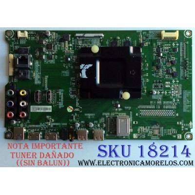 MAIN / HISENSE 221078 / RSAG7.820.6715/ROH / 217834 / HU55H3000UW / E303981 / MODELO 55DU6070 / NOTA IMPORTANTE:TUNER DAÑADO ((SIN BALUN))