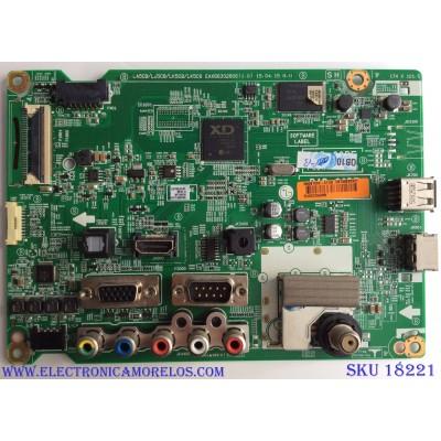 MAIN / LG EBT63893901 / EAX66302806 (1.0) / EAX66302806 / PANEL LC550EUE (FH)(M3) / MODELOS 55LX341C-UA.BUSYLJ / 55LX341C