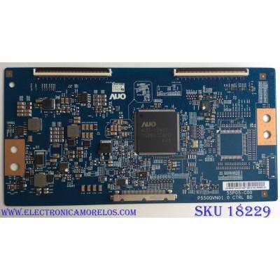 T-CON / WESTINGHOUSE 55.55T22.C07 / 55P05-C00 / P550QVN01.0 CTRL BD / 5555T22C07 / PANEL T550QVN03.0 / MD5508YTLU / MODELOS WD55UT4490 TW-04411-A055I / WD55UT4490 TW-04441-A055I