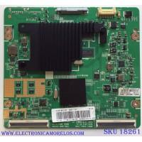 T-CON / SAMSUNG BN95-00712A / BN41-01790C / BN97-06812A / MODELO UN55ES7003FXZA US01 / UN55ES7100FXZA US02 / PANEL LTJ550HQ26-V