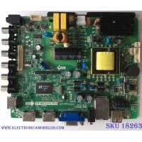 MAIN / FUENTE ( COMBO ) / APEX B13080245 / TP.MS3393.P85 / PANEL T320XVN02.9 / MODELO LE3245M