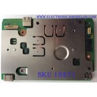 TARJETA HE / PANASONIC TNPA6004AB / TNPA6004 / PANEL V650DK1-KS2 REV.B3 / MODELO TC-65AX800C