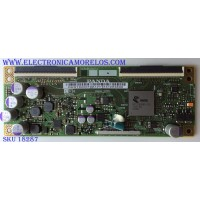 T-CON / JVC RUNTK0008ZA / CEC_PCB5460001A / PANEL LC546PU1L01 / MODELO LT-55MA770
