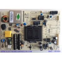 FUENTE DE PODER / PIONEER MP022S-39-105V / MP022S-39DX / REV:1.0 / E214852 / PANEL LK315T3HB94 / MODELO PLE-3203HD / SLE2039