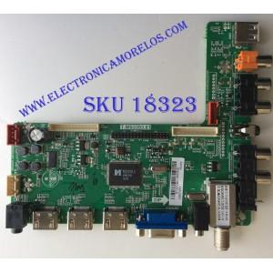 "MAIN / FUENTE (COMBO) / ""NOTA: RCA DAÑADO"" AFFINITY B13073901 / T.MS3393.81 / V260WX1 / E310229 / PANEL`S TY390LK03-ACW6 / MODELO SLE2039"