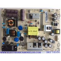 FUENTE DE PODER / SHARP PLTVEL261XAB9 / 715G6896-P01-000-003H / PANEL TPT315B5-HVN REV.S520D / MODELO LC-32LB261U