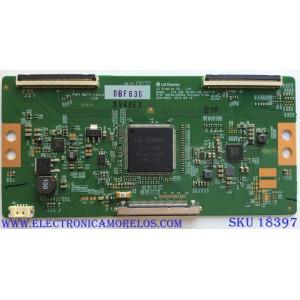 T-CON / LG 6871L-3930E / 6870C-0553A / 3940E / PANEL LC550EQE (FH)(M2) / MODELOS 55UX340C-UF / 55UX340C