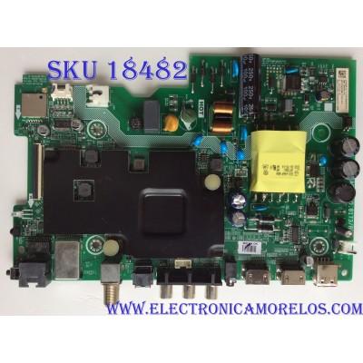 MAIN / FUENTE ( COMBO) / SHARP 239689 / HU32N50HW/229144 / RSAG7.820.8173/ROH / 229144 / 60101-02669 / 320046597113KAK / PANEL BOEI320WX1-01 / MODELO LC-32Q5200U
