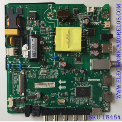 MAIN / FUENTE ( COMBO ) / HISENSE R18061360 / TP.SR.PB701 / LSC400HN02 / PANEL JHD400N12F31 / MODELO 40EU3000