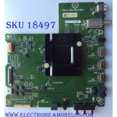 MAIN / SHARP 239887B / 239884B / TM18B150JT / HU65A6107UWR(0001)/3369 / RSAG7.820.8252/ROH / PANEL HD650S1U71-L1 / MODELO LC-65Q7330U