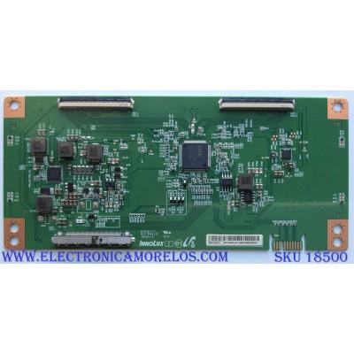 T-CON / SHARP MACDJ4E11 / E253117 / PANEL HD580S1U02-L1 / MODELO LC-58Q7370U