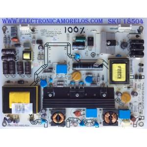 FUENTE DE PODER / HISENSE 159861 / RSAG7.820.4885/ROH / 159863 / HLL-4046WG /MODELO F46K20E / PANEL HE460FF-B37(0200)/PW1