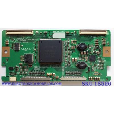 T-CON / LG EAT60667501 / 1928B / 6870C-0259D / PANEL LC470WUD (SB)(M4) / MODELO 47SL85-UA AUSVLJR