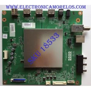 MAIN / TOSHIBA 631V0G00250 / 691V0G00250 REV:1D / UCI4 VTV-L55731 REV:1 / PANEL U500DU01 REV.CD1.A / MODELO 50LF621U19