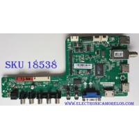 MAIN / SANYO B14041448 / 02-MB3393-CQS004 / T.MS3393T.78 / 3MS3393X-3 / PANEL V500HJ1-LE8 REV.C1 / MODELO DP50E44 P50E44-01