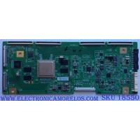 T-CON / LG 5866A / DVDD18_10 / PANEL LE650AQD (EL)(A3) / MODELO OLED65C8PUA.BUSWLJR