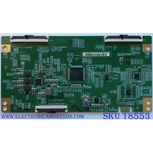 T-CON / SHARP HV650QUBN90 / C-PCB_HV650QUB / 47-6021218 / 44-97713810 / PANEL`S HD650S1U71\S8\GM\ROH / HD650S1U71 / MODELO LC-65Q7300U