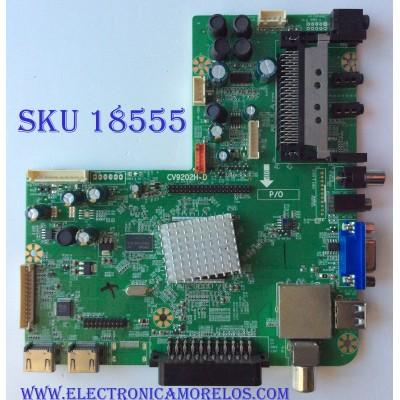 MAIN / AVOL 47T1711 / CV9202H-D / PANEL SMT1407021 / MODELO AET48400FWD