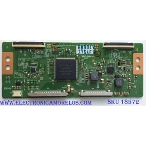 T-CON / VIZIO 6871L-2754F / 6870C-0402C / 2754F / PANEL LC470EUD (SE)(F4) / MOD. M3D470KD / SUSTITUTAS 6871L-2836E / 6871L-2836B / 6871L-2754G / 6871L-2836A / 6871L-2754B / 6871L-2944A / 6871L-2944B / 6871L-2836F / ((MAS SUSTITUTAS EN DESCRIPCION))